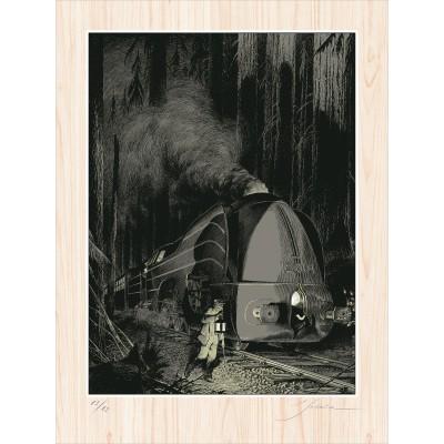 La Type 12 - Halte en forêt