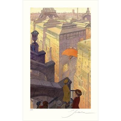 Paris, les Halles, le jour