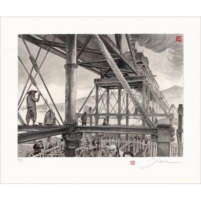 Pekin-Hankou - Le pont