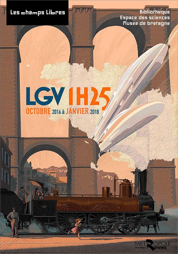 LGV1H25 - Affiche de l'expo