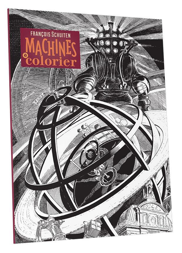 Machines à colorier - Atlantic12 - Couv 3d
