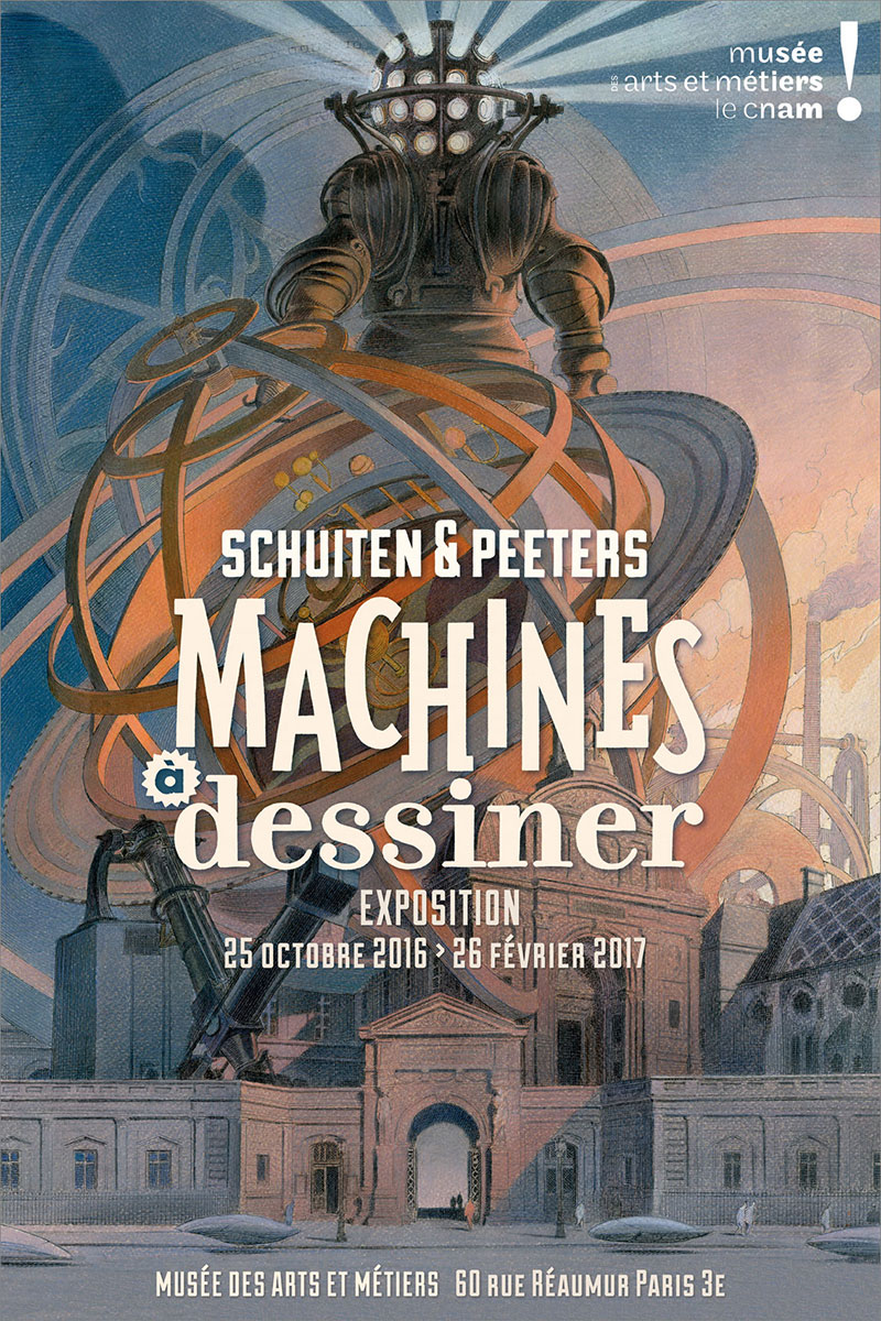 Machines à dessiner - Affiche de l'expo