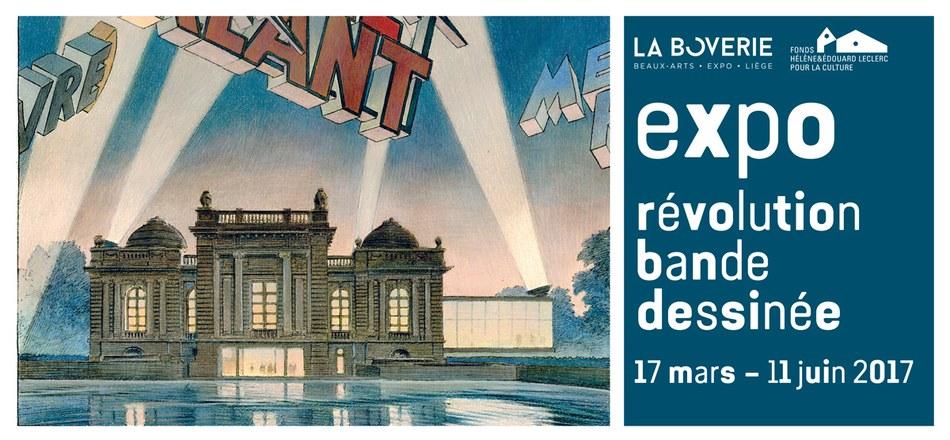 Révolution bande dessinée à la Boverie à Liège