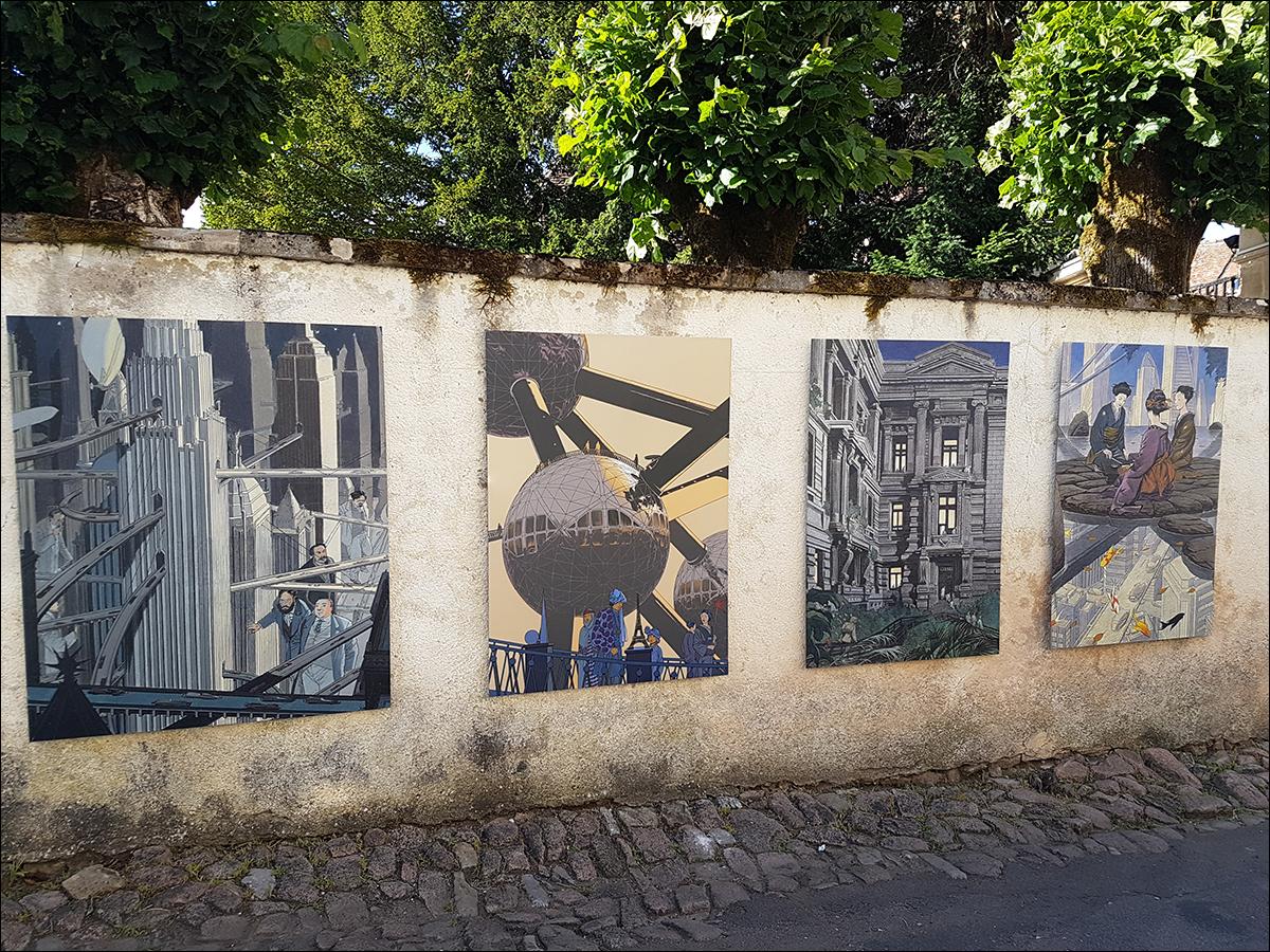 Un artiste dans la ville
