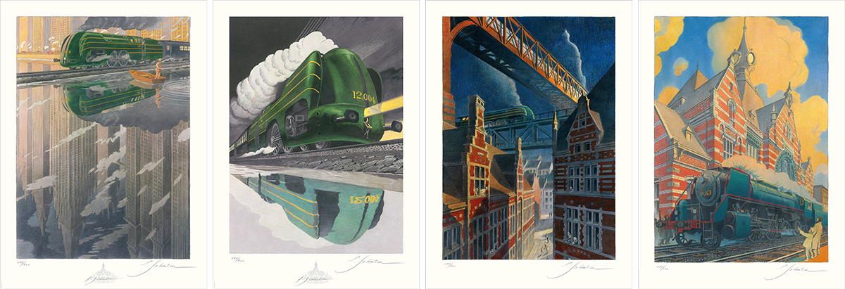 Affiches ferroviaires