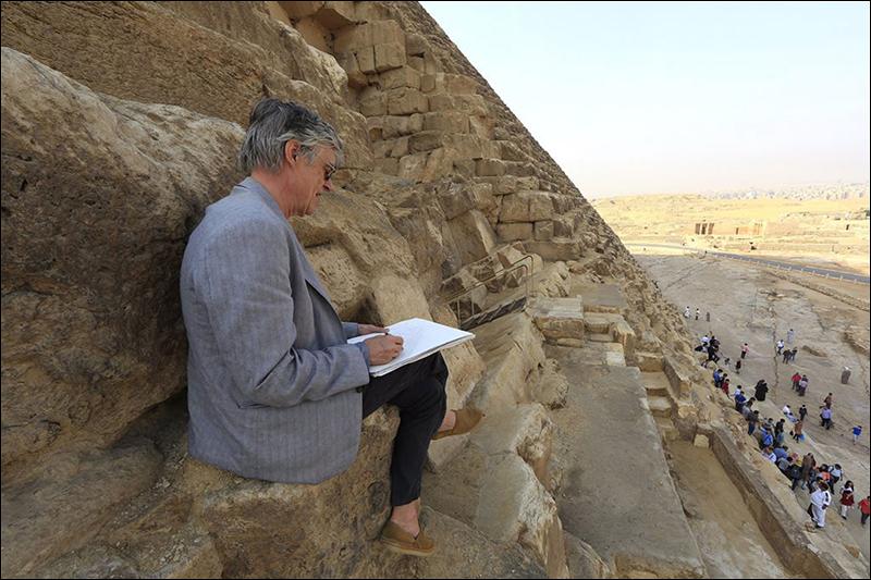 François Schuiten - ScanPyramids