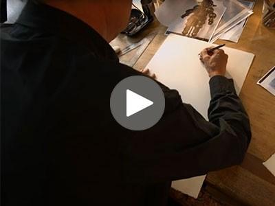 Video - Machines à dessiner - Naissance d'une affiche
